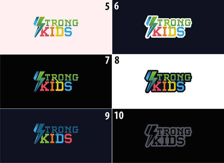 Логотип для Детского Интернет Магазина StrongKids фото f_4125c6870a483644.jpg
