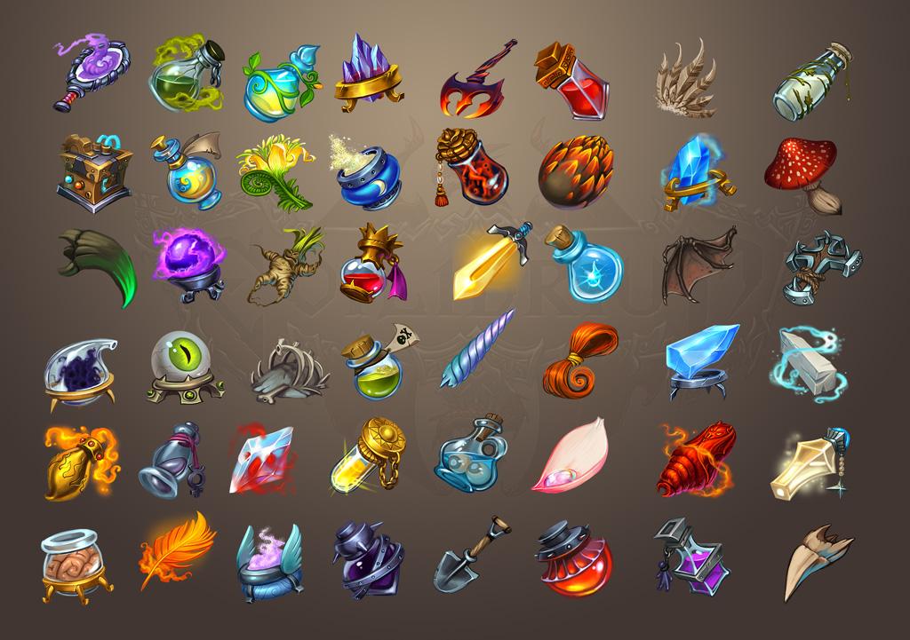 Иконки для Evilibrium