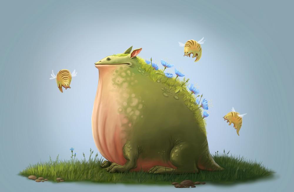 Весенняя жаба