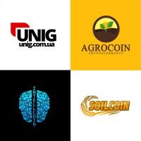 Подборка из 4 логотипов/криптовалюты