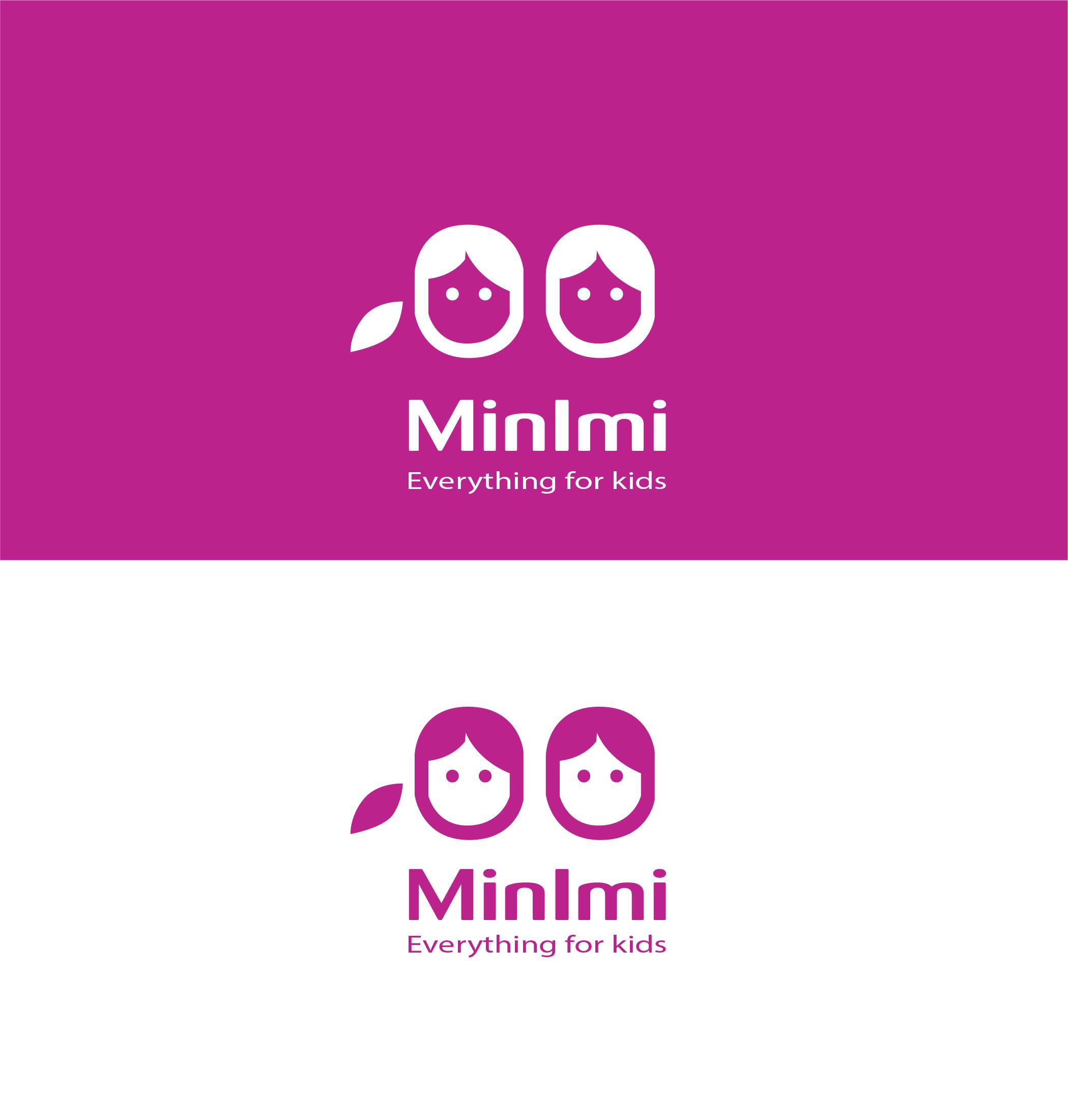 Цель: Разработать логотип детской дизайнерской одежды Мinimi фото f_6935b26c92567351.jpg