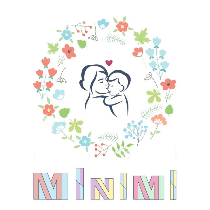 Цель: Разработать логотип детской дизайнерской одежды Мinimi фото f_8765b1d23344f998.jpg