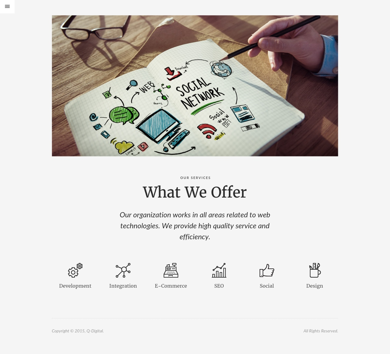 Сайт компании Q-Digital