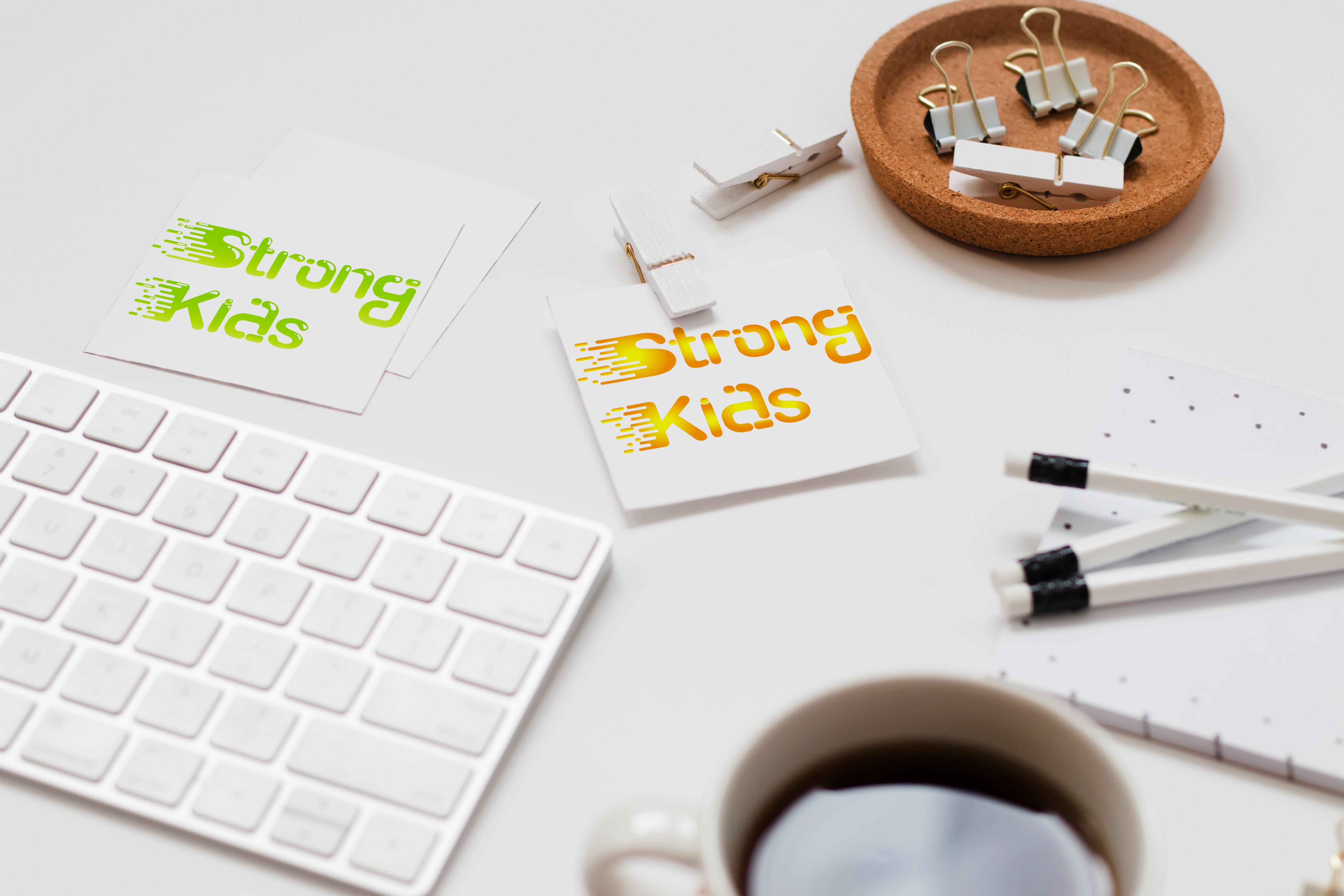 Логотип для Детского Интернет Магазина StrongKids фото f_6155c710f8dc40f4.jpg