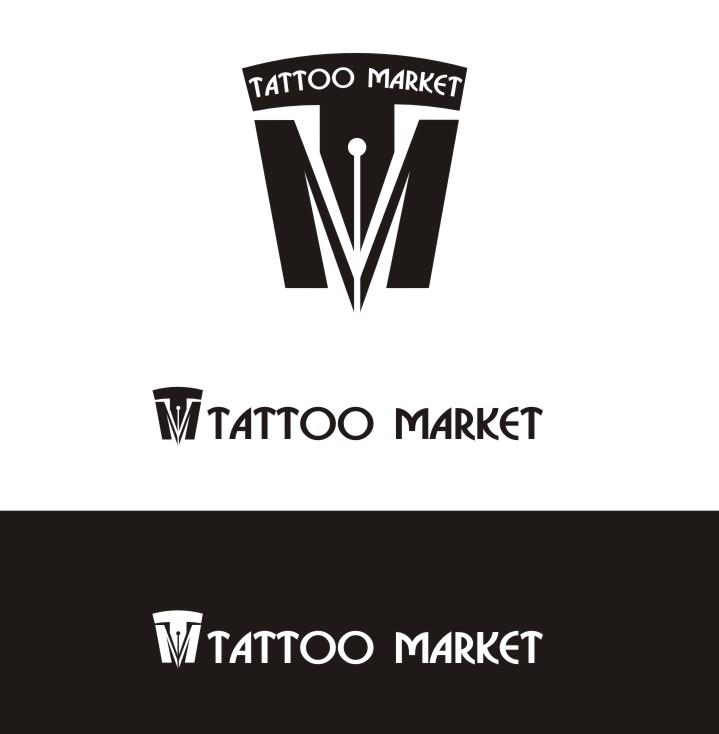 Редизайн логотипа магазина тату оборудования TattooMarket.ru фото f_3715c3dcc19e1686.jpg