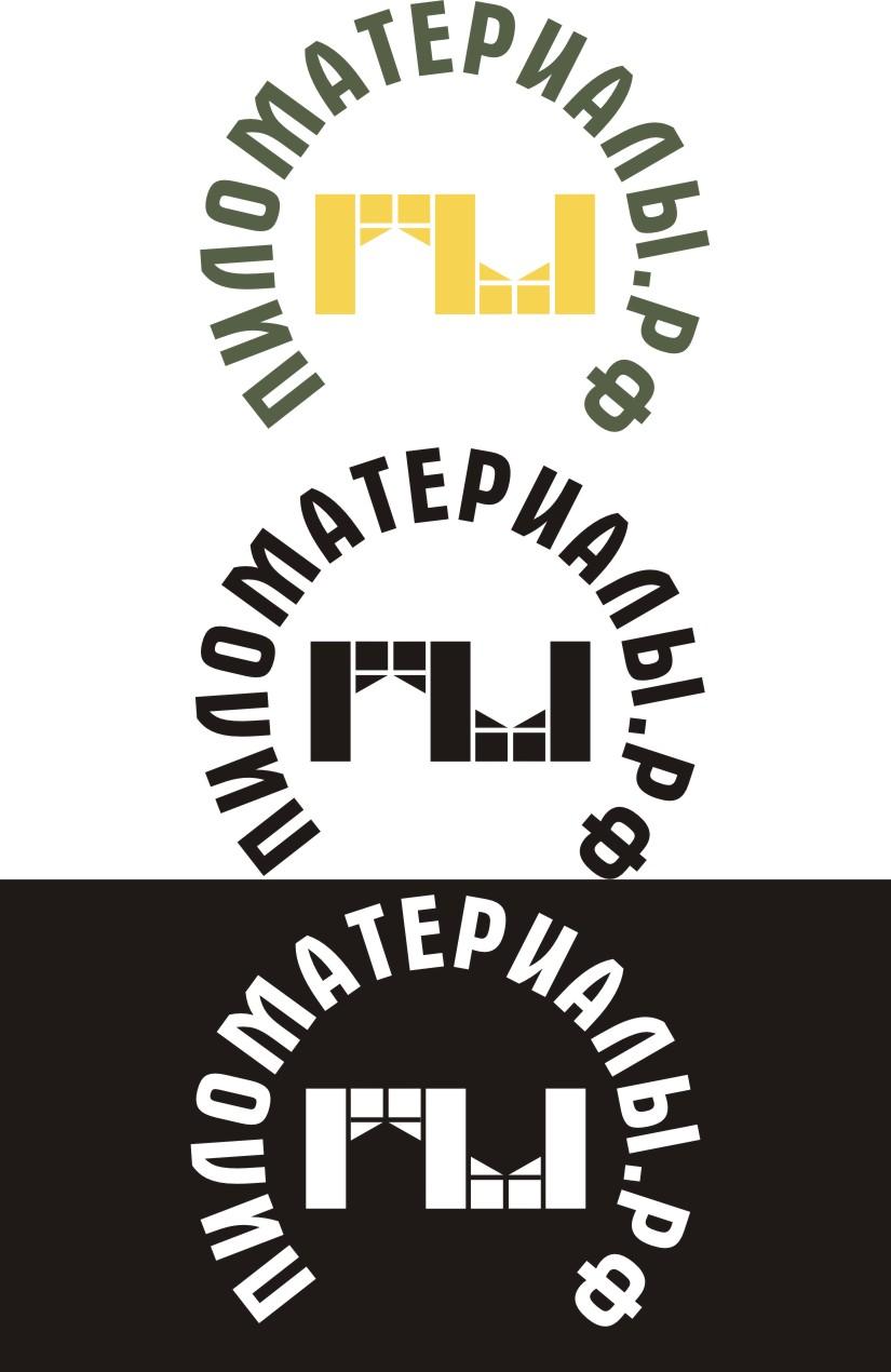 """Создание логотипа и фирменного стиля """"Пиломатериалы.РФ"""" фото f_485530d6dc553ace.jpg"""