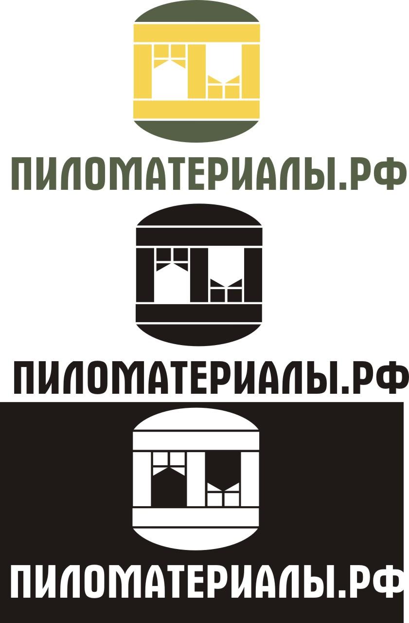 """Создание логотипа и фирменного стиля """"Пиломатериалы.РФ"""" фото f_771530d6b4b542ef.jpg"""