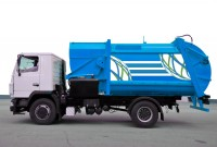 Оформление мусоровоза