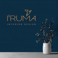 "Логотип для студии интерьера ""I'RUMA"""