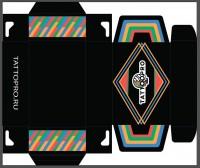 Дизайн коробки для тату-материалов
