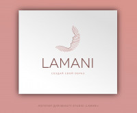 ЛОГОТИП ДЛЯ BEAUTY STUDIO «LAMANI»