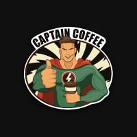 """Фирменный стиль, логотип для кофейни """"Captain Coffee"""""""