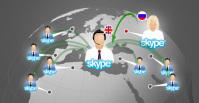 Онлайн-перевод по Скайпу / Online interpreting via Skype