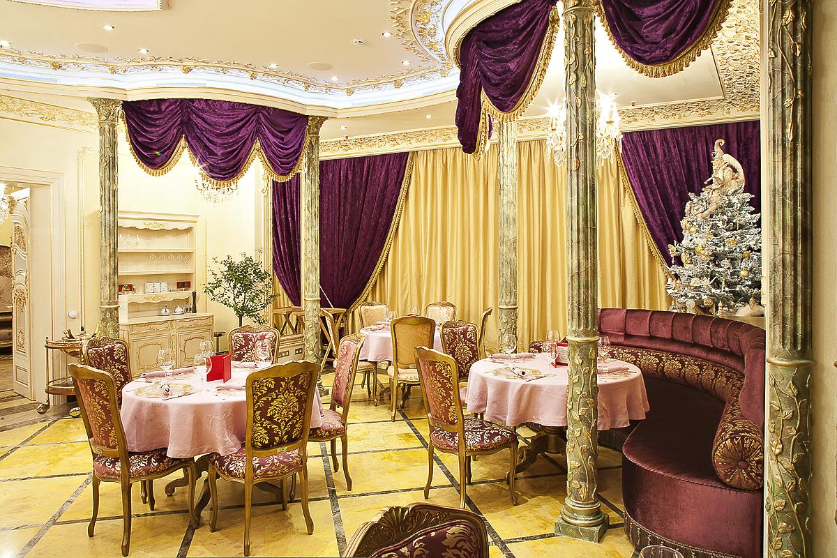 """Интерьерная фотосъемка ресторана """"Шампань"""""""