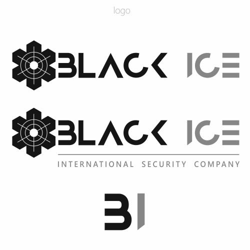 """Логотип + Фирменный стиль для компании """"BLACK ICE"""" фото f_63257188787458c1.jpg"""