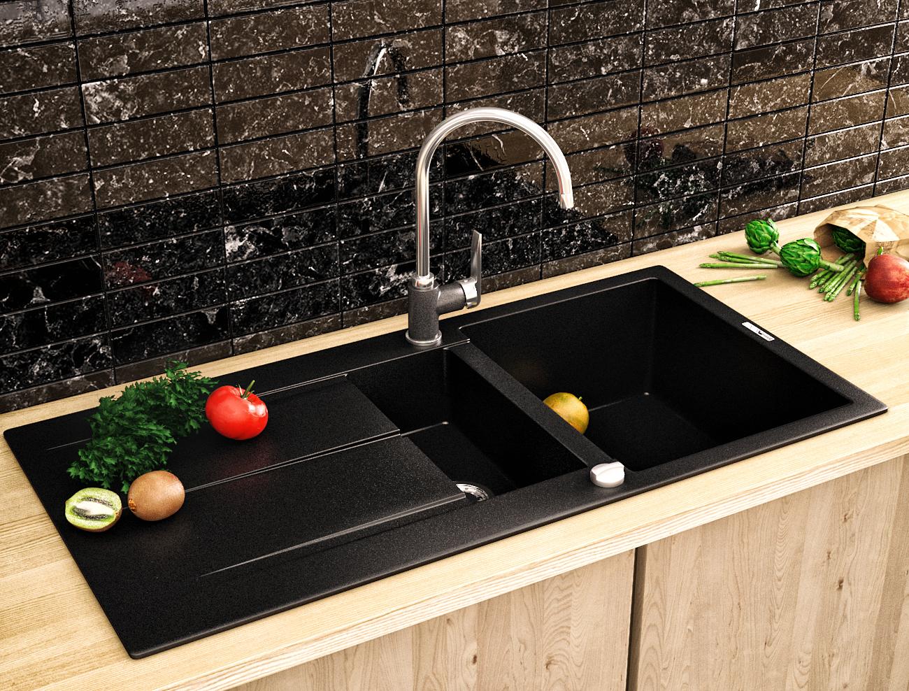 Визуализация кухонной мойки