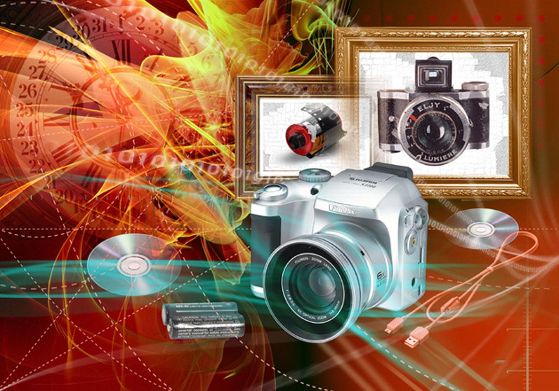 Эра цифровой фотографии