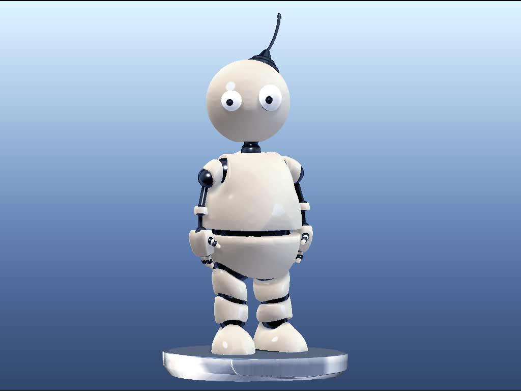 "Модель Робота - Ребёнка ""Роботёнок"" фото f_4b743a1f82f64.jpg"