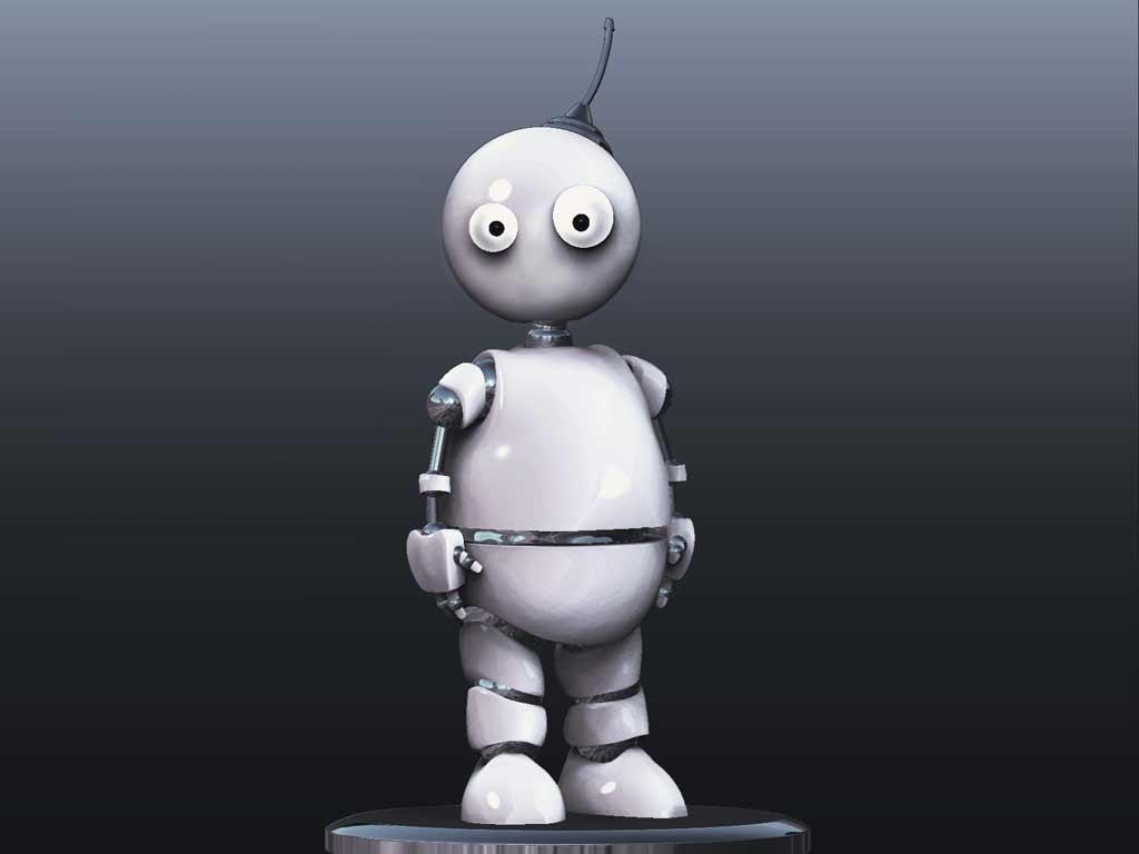 "Модель Робота - Ребёнка ""Роботёнок"" фото f_4b74ae5a25881.jpg"