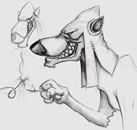 Злобный пёс