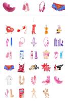 Иконки для магазина интимных товаров sexware