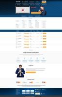Дизайн сайта для дикторов