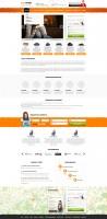 Дизайн сайта для поставщика твердотопливных материалов