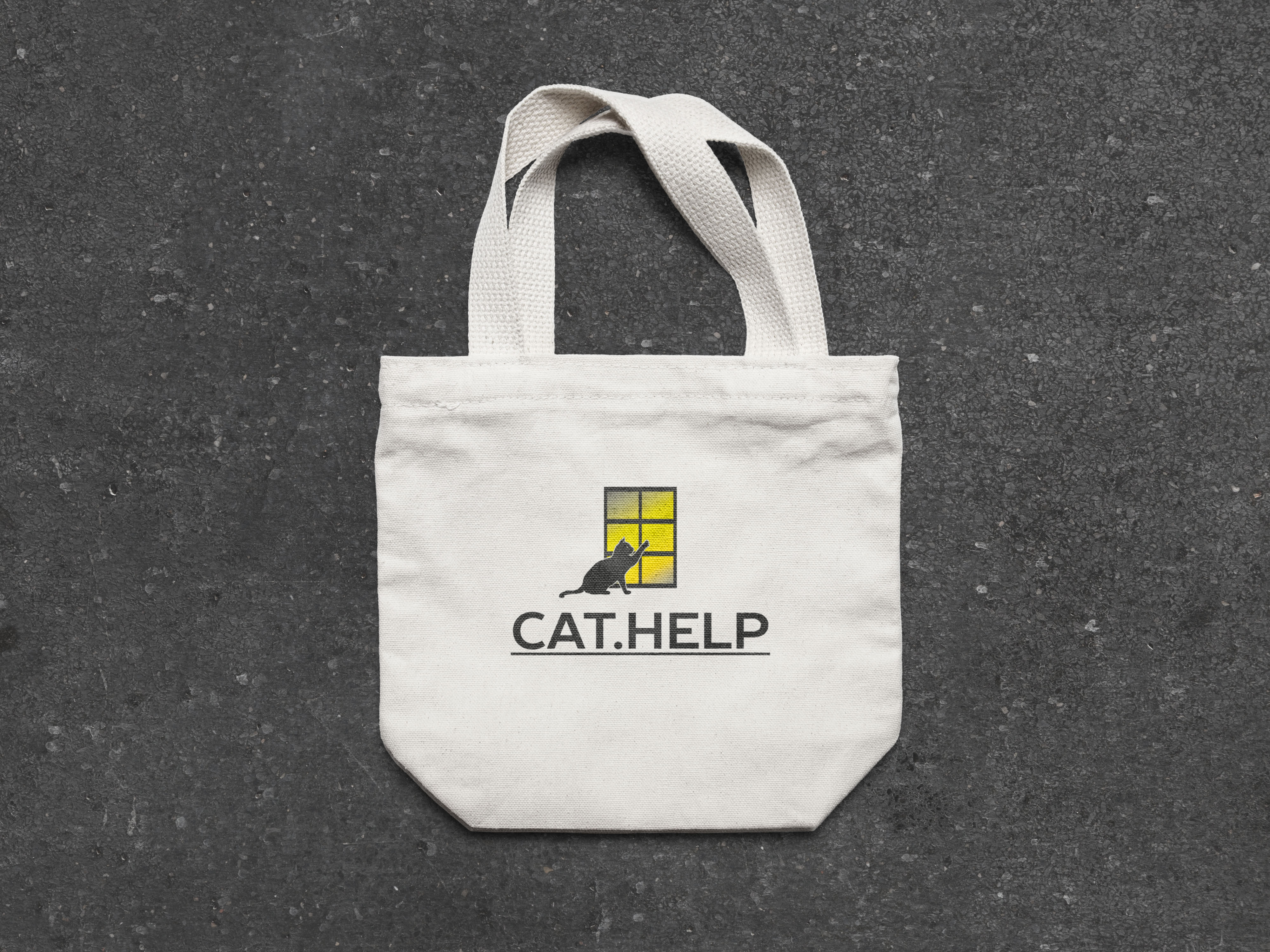 логотип для сайта и группы вк - cat.help фото f_76159e471f53be7f.jpg