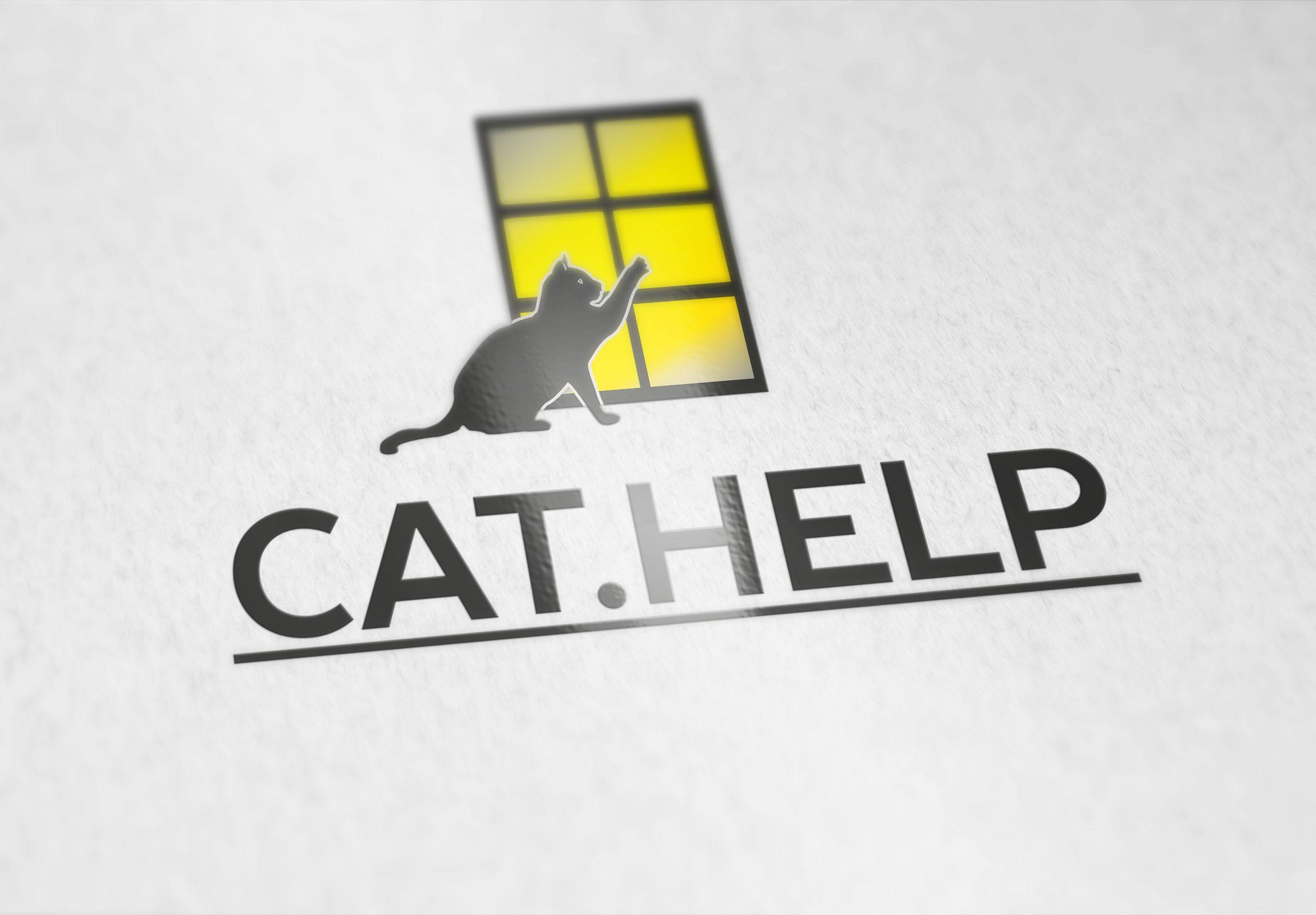 логотип для сайта и группы вк - cat.help фото f_80359e471fc02a0c.jpg