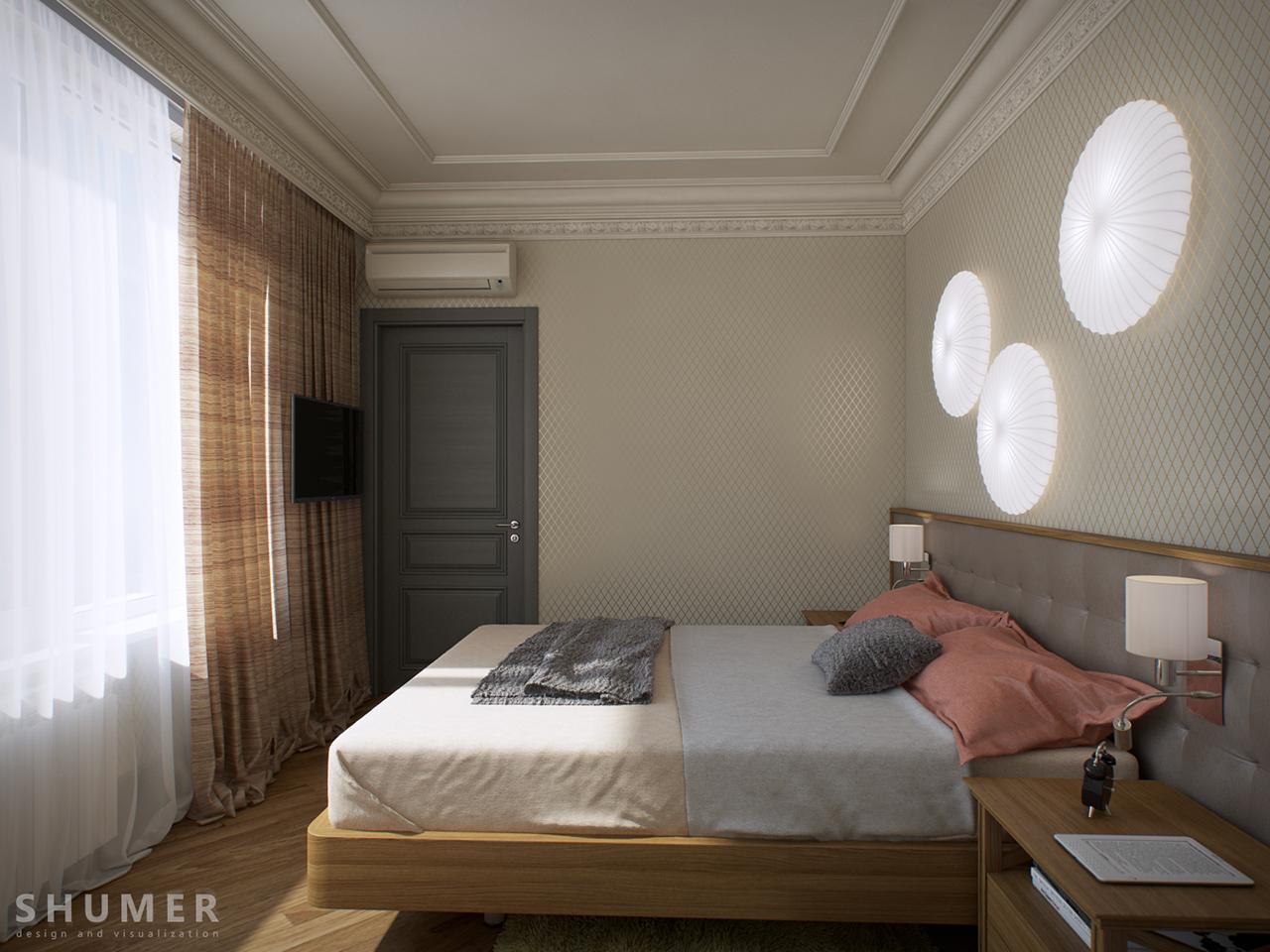 Квартира - Чехова. Вид.16. Спальня.