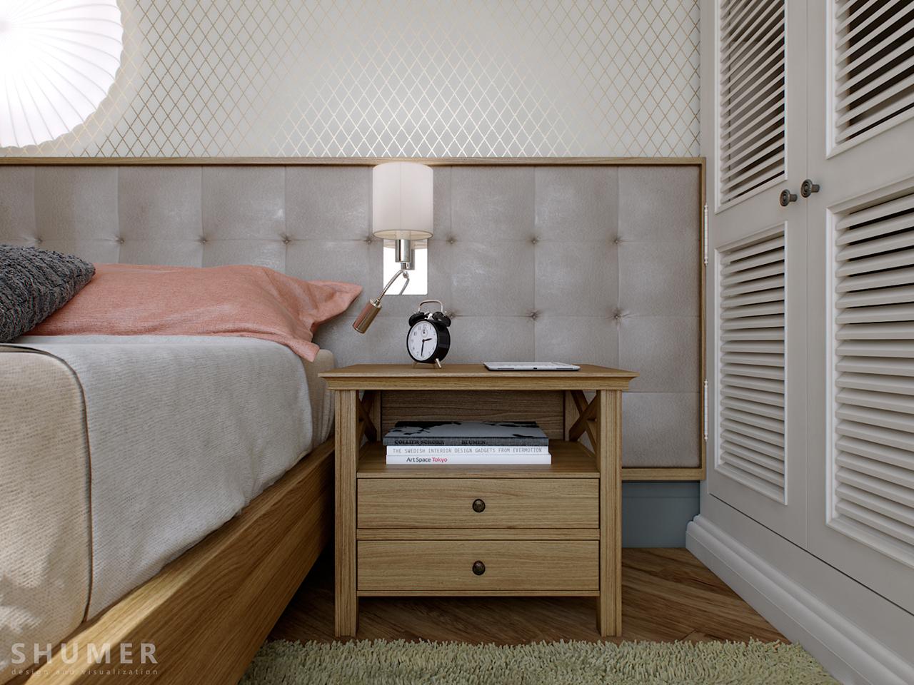 Квартира - Чехова. Вид.18. Спальня.