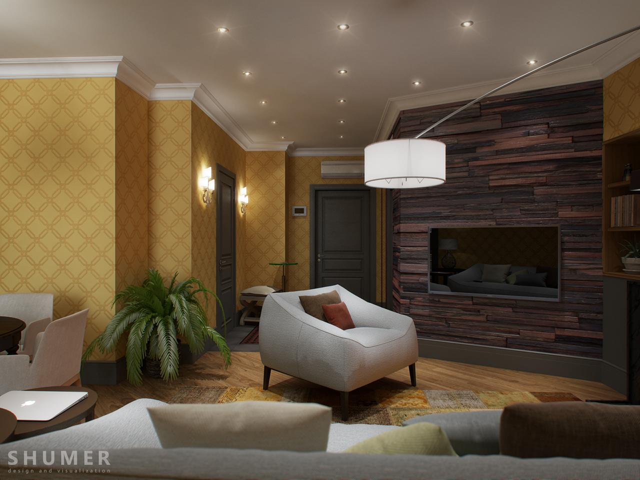 Квартира - Чехова. Вид.4