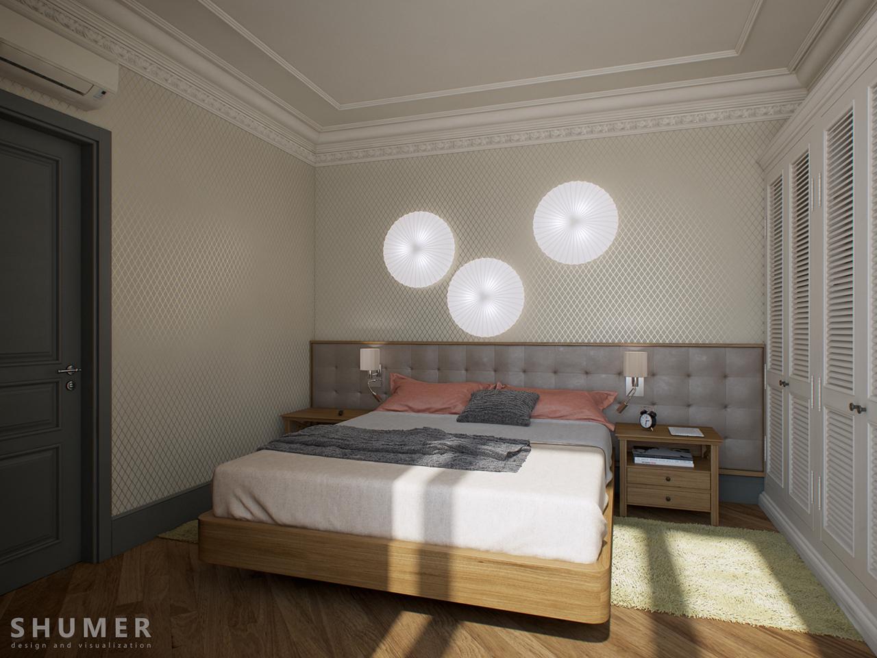 Квартира - Чехова. Вид.17. Спальня.