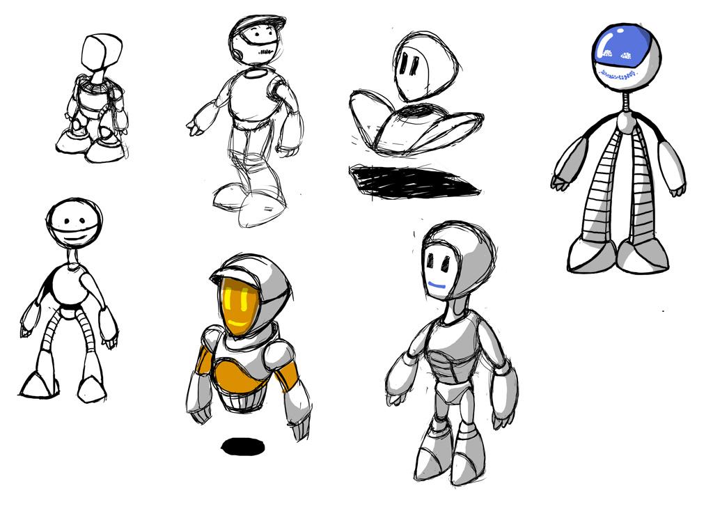 "Модель Робота - Ребёнка ""Роботёнок"" фото f_4b4cde35a02fb.jpg"