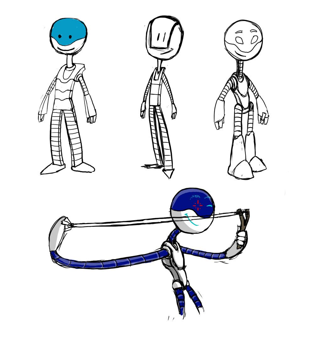 """Модель Робота - Ребёнка """"Роботёнок"""" фото f_4b4e6db947886.jpg"""