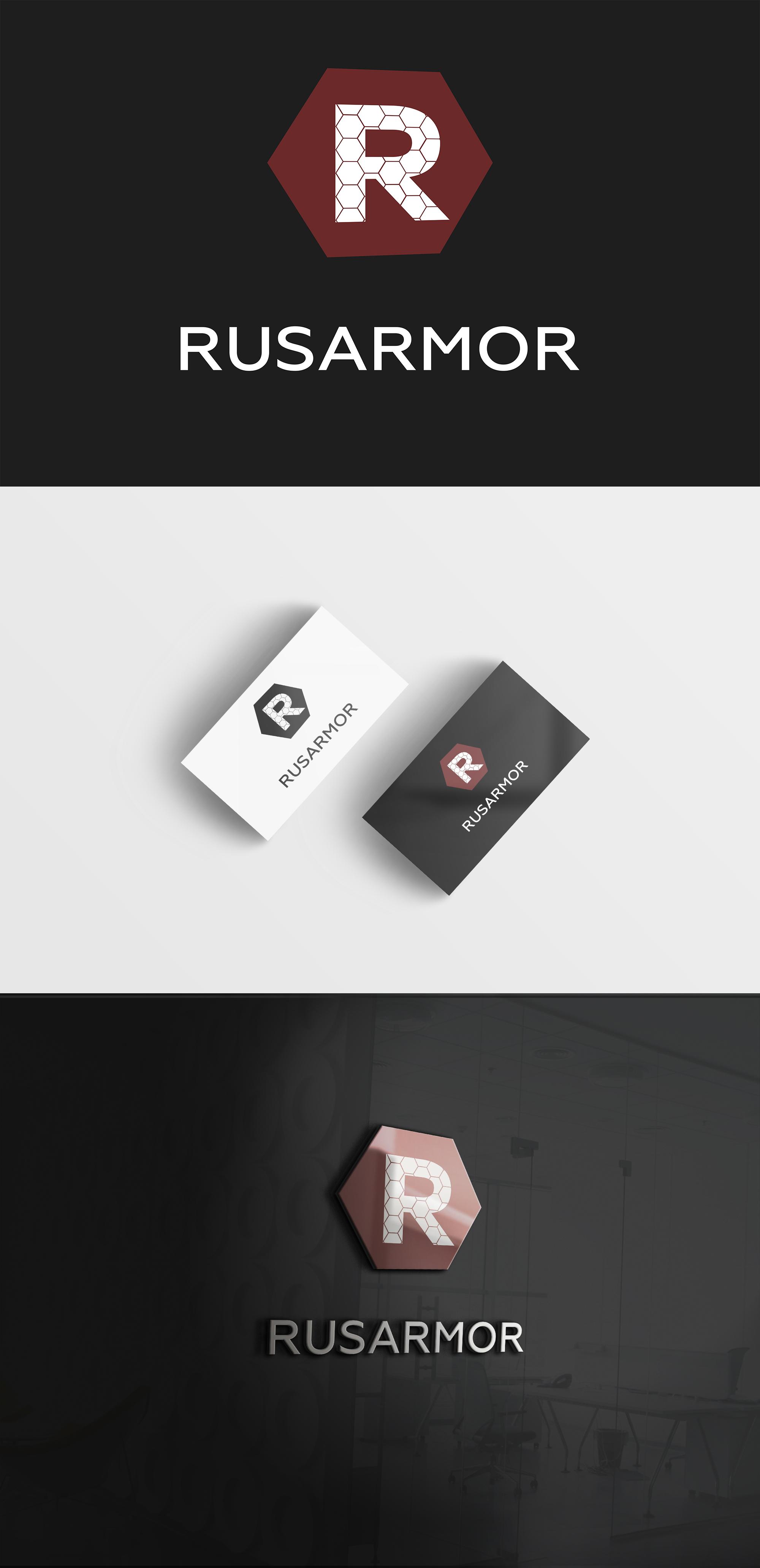 Разработка логотипа технологического стартапа РУСАРМОР фото f_5965a08fb51d942d.jpg