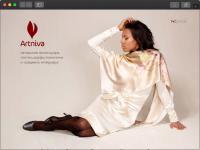 Корпоративный сайт мастерской изделий ручной работы — Artniva