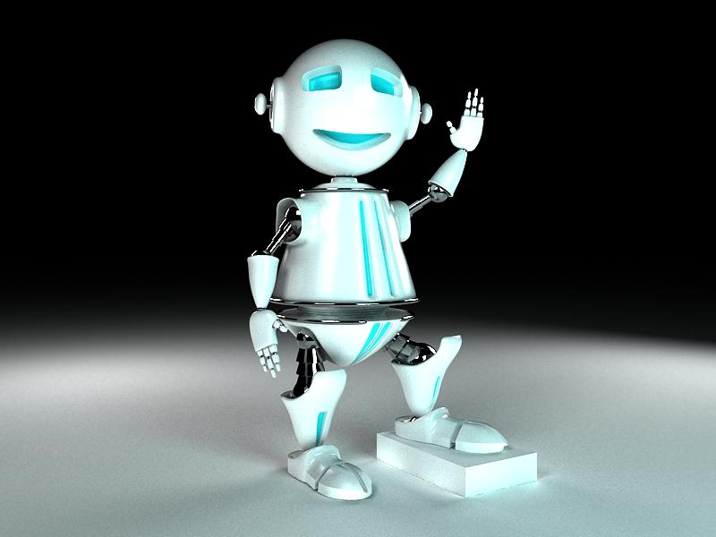 """Модель Робота - Ребёнка """"Роботёнок"""" фото f_4b5614bac4b88.jpg"""