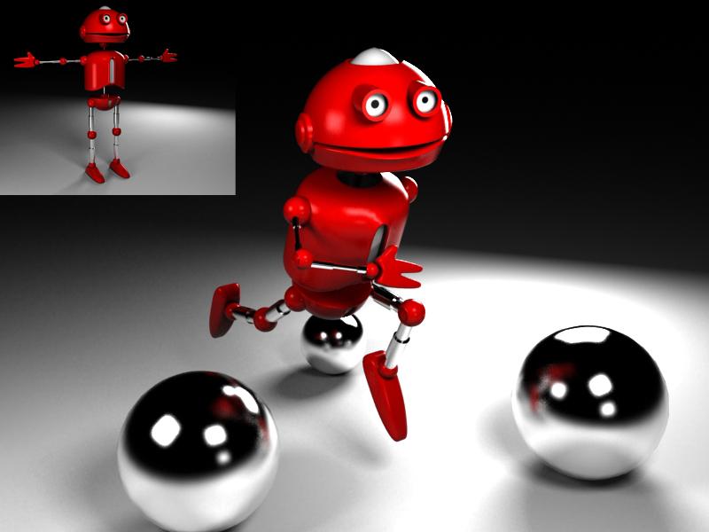 """Модель Робота - Ребёнка """"Роботёнок"""" фото f_4b676fda9b6b1.jpg"""