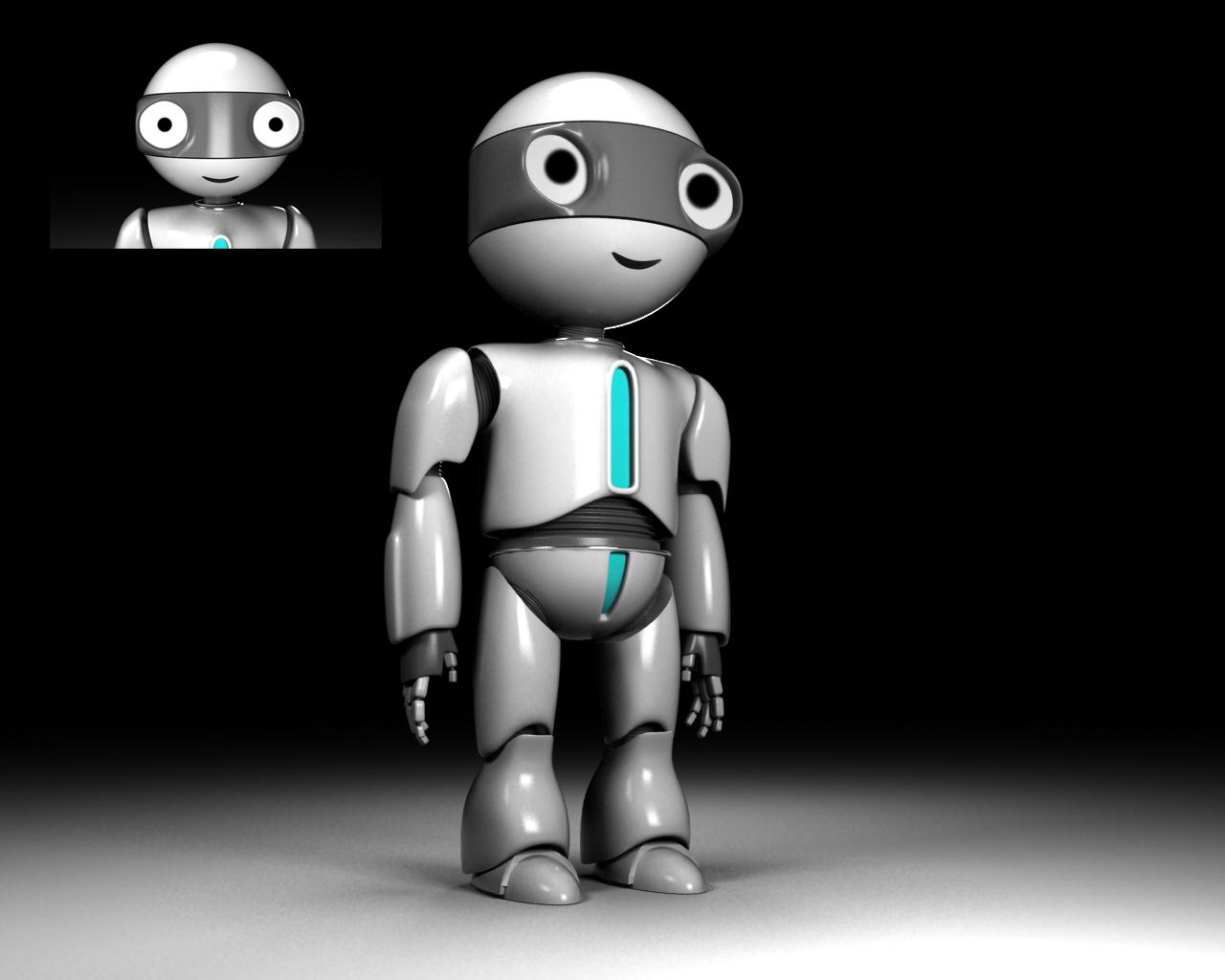 """Модель Робота - Ребёнка """"Роботёнок"""" фото f_4b6af6cadb455.jpg"""
