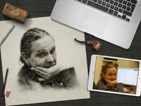 Рисунок аватара по фотографии! Оригинальный подарок на день рождения!