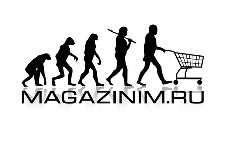 MAGAZINIM.RU / вариант логотипа