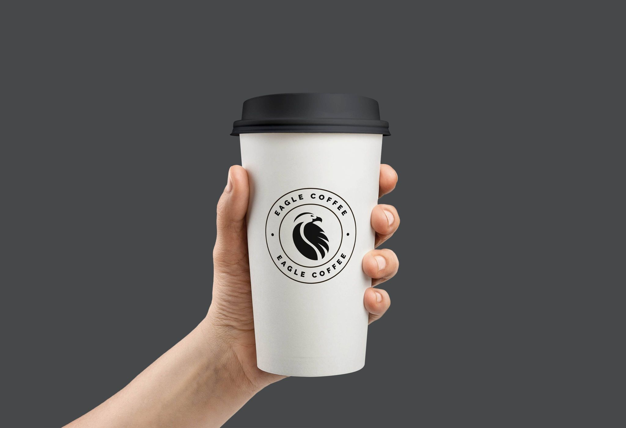 identity design for EAGLE COFFEE
