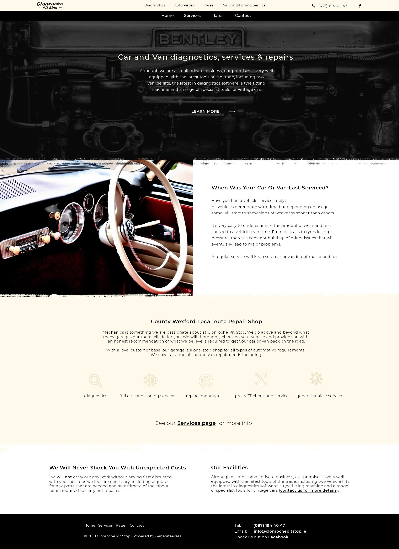 clonroche car service