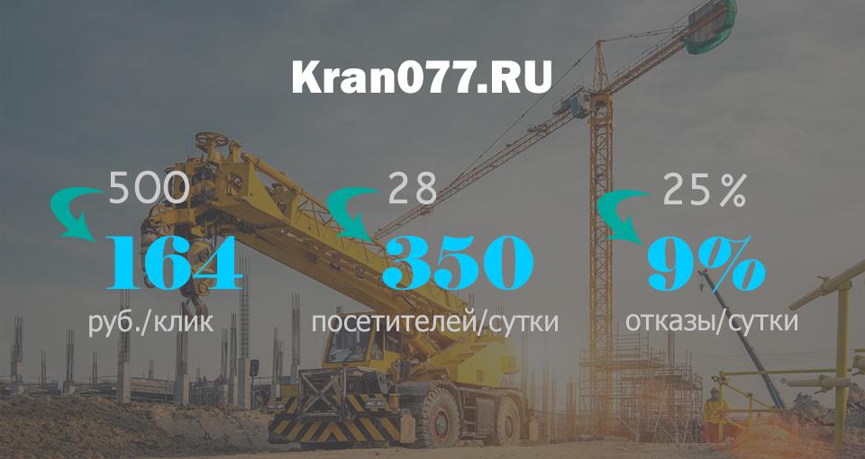 Аренда кранов манипуляторов в Москве (Яндекс Директ)