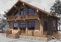 ЭОМ индивидуального деревянного дома