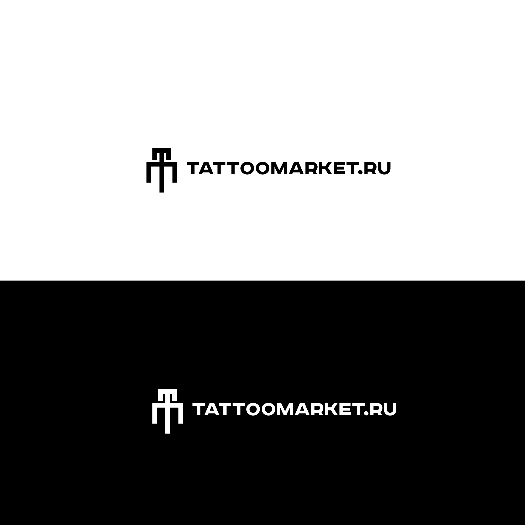 Редизайн логотипа магазина тату оборудования TattooMarket.ru фото f_0415c401c93f06d4.jpg
