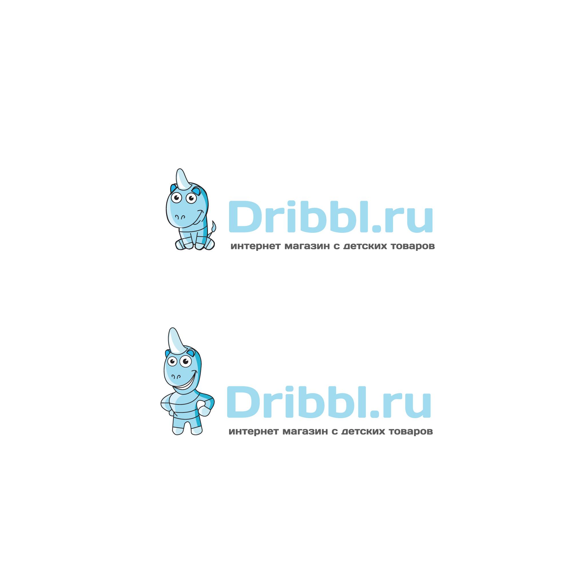 Разработка логотипа для сайта Dribbl.ru фото f_0735a9d499b1a91e.jpg
