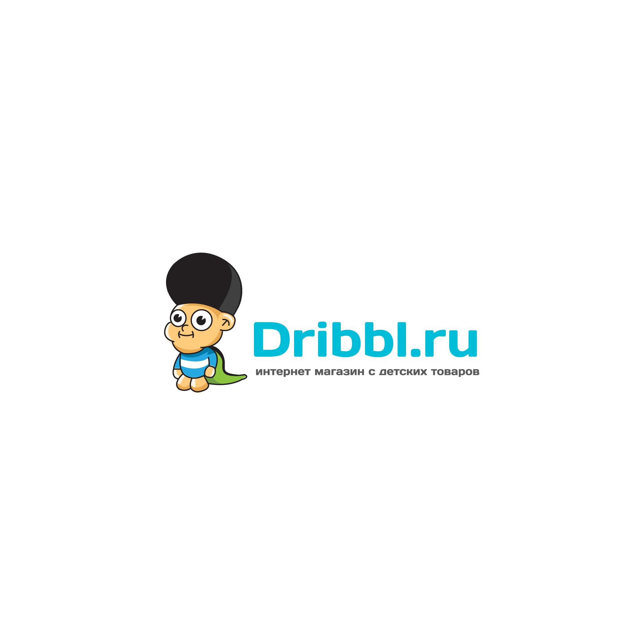 Разработка логотипа для сайта Dribbl.ru фото f_1285a9d499922a4c.jpg