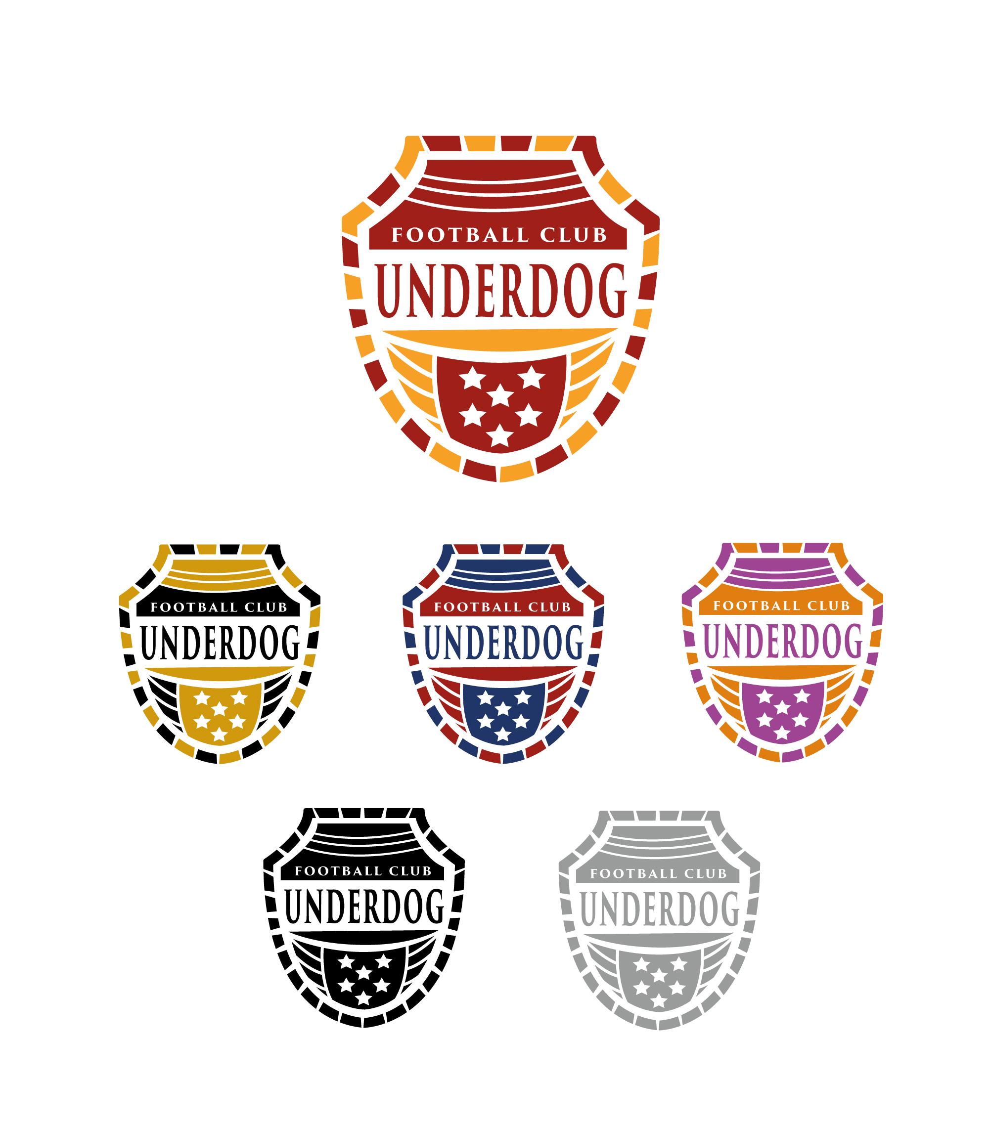 Футбольный клуб UNDERDOG - разработать фирстиль и бренд-бук фото f_4365cb460a65c9e2.jpg